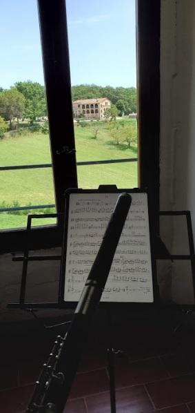 Practice room view